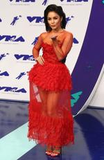 Vanessa Hudgens attends the 2017 MTV Video Music Awards at The Forum on August 27, 2017 in Inglewood, California. Picture: AFP