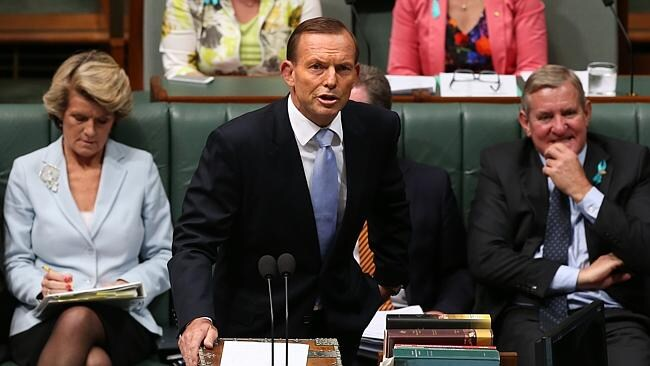 Not on ... PM Tony Abbott has reiterated his opposition to offering Qantas a debt guarantee.