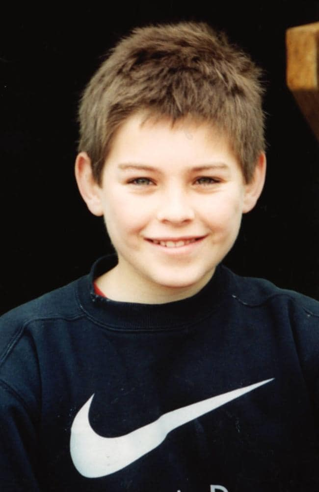 Daniel Morcombe, 13, over whose abduction and murder Douglas Jackway was originally quizzed.