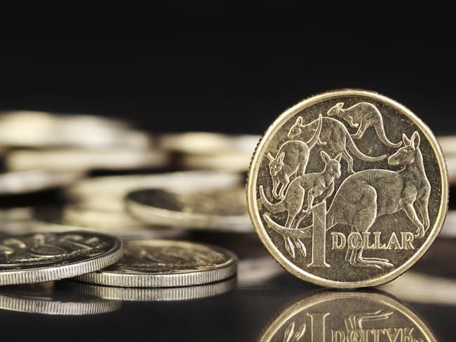 The Aussie dollar has lifted on the back of sluggish economic signals out of the US.