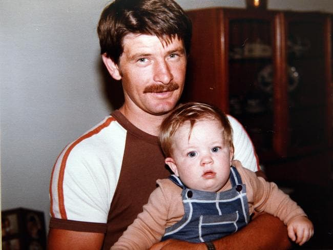 Tracy Thomas with her father Peter Lee who took his own life after a battle with depression.