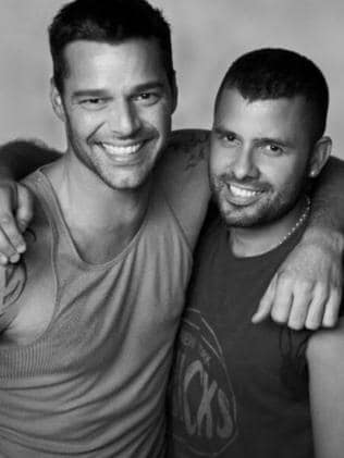 Ricky Martin and Carlos Gonzalez dated from 2008 — 2013. Picture: Imgur