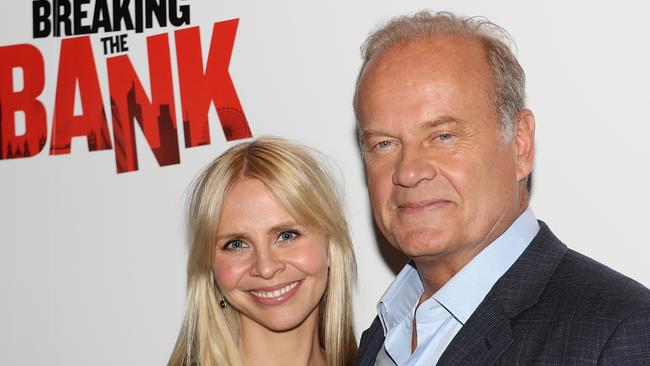 Kelsey Grammer and Kayte Walsh attend the UK Gala Screening of Breaking the Bank.