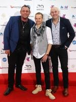 Wolfe Brothers arrive on the red carpet for the 30th Annual ARIA Awards 2016 at The Star on November 23, 2016 in Sydney, Australia. Picture: Jonathan Ng