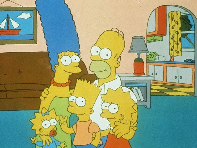 TV's The Simpsons. Picture: Supplied