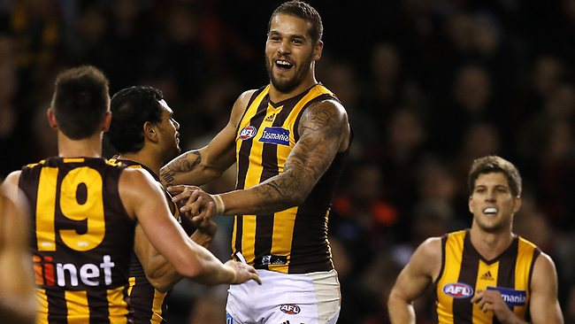 Out .... Hawthorn has a good record without Lance Franklin.