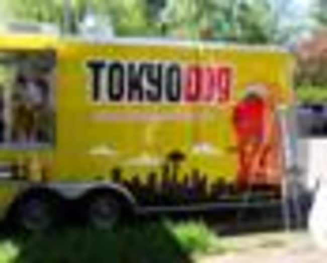 The Tokyo Dog food truck.