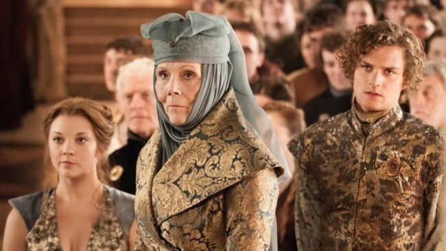 Lady Olenna, what a badass. Photo: HBO