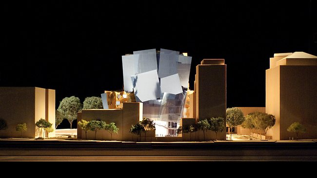 An artist's impression of the tree house-type structure designed by architect Frank Gehry that will house the University of Technology Sydney Business School. Picture: Llp Gehry Partners,