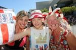 Suzanne, Phoebe and Christine Ollerton of Lancashire at South Bank. Picture: Keayes Sarah