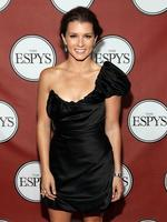 QUEEN of the track, NASCAR driver Danica Patrick poses backstage at The 2011 ESPY Awards in Los Angeles. Picture: Christopher Polk