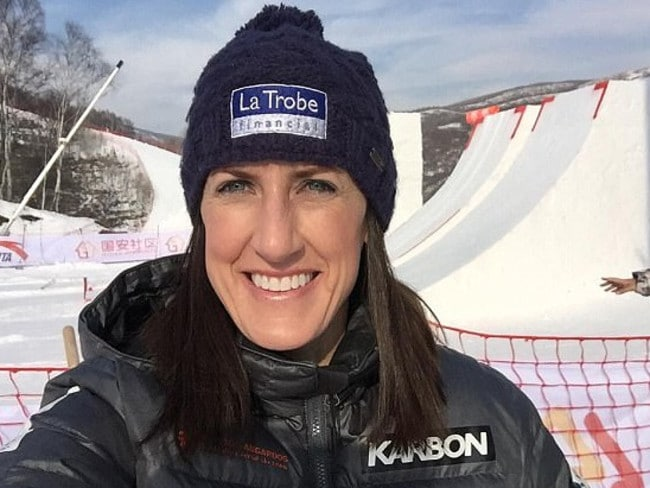 Jacqui Cooper has been part of Seven's Olympic team. Picture: Supplied/Instagram, Jacqui Cooper