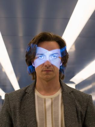 Who's ya daddy? James McAvoy as he appeared as Charles Xavier in last year's X-Men: Apocalypse. Picture: Twentieth Century Fox