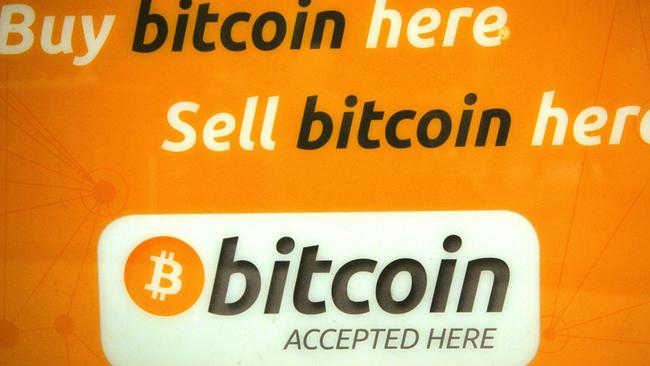 Bitcoin is a controversial online currency. Picture: AFP/Peter Parks