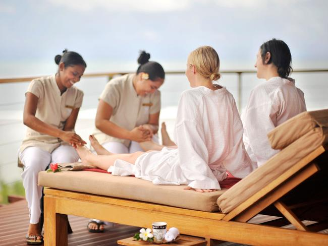Bebe Spa Sanctuary in Outrigger Fiji Beach Resort.