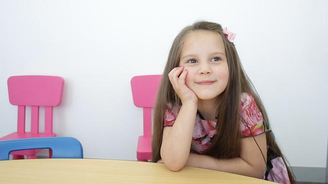 Lejla Sinanovic, 5, has a photographic memory
