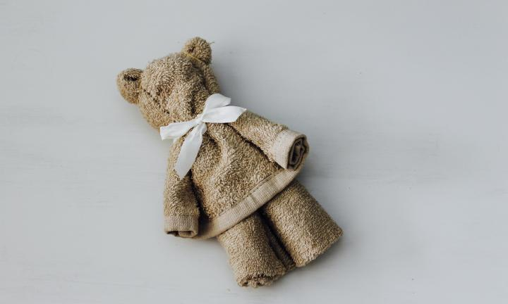 How to make a no-sew towel teddy