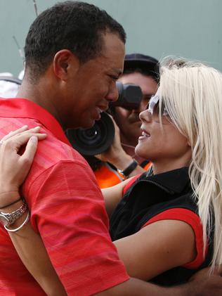 Tiger Woods' fall from grace was swift once the scale of his infidelities were made public. Not only did he lose his family, but his sponsorships, and his golf game was never the same for the former world No. 1. Picture: AP
