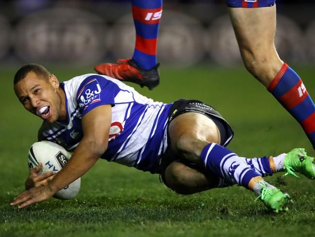 Mbye has switched to hooker after spending much of the season in the halves. Picture: Getty Images
