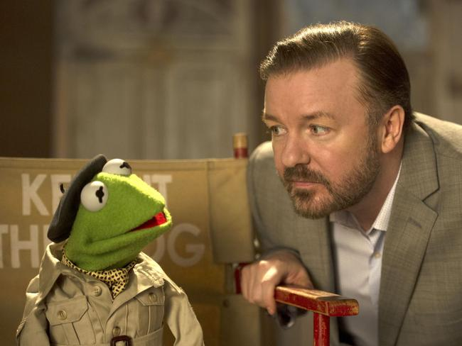 Gervais recently starred in The Muppets Most Wanted.