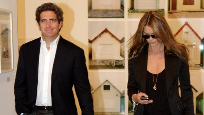 Jeffrey Soffer and Elle Macpherson have married. Picture: Splash