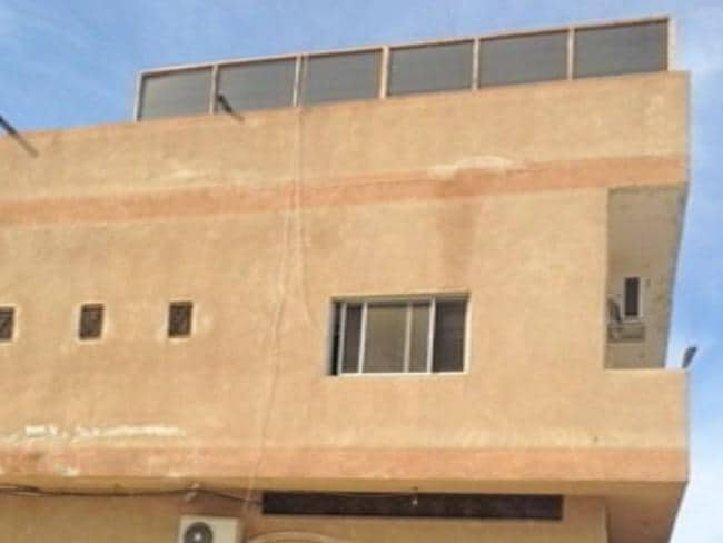 A house in Syria near the town of al-Raqqah where Australian terrorists Khaled Sharrouf and Mohamed Elomar lived.