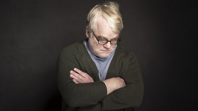 Phillip Seymour Hoffman poses for what is most likely his last portrait at the Sundance Film Festival in Utah on January 19.