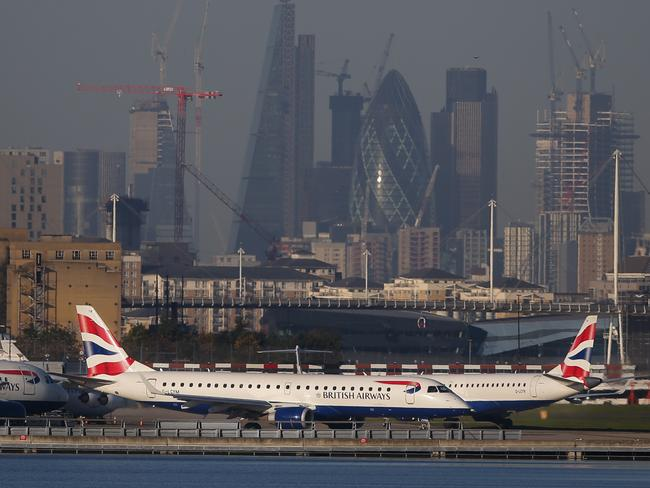 London City Airport is the city's most central. Picture: AFP/Daniel Leal-Olivas