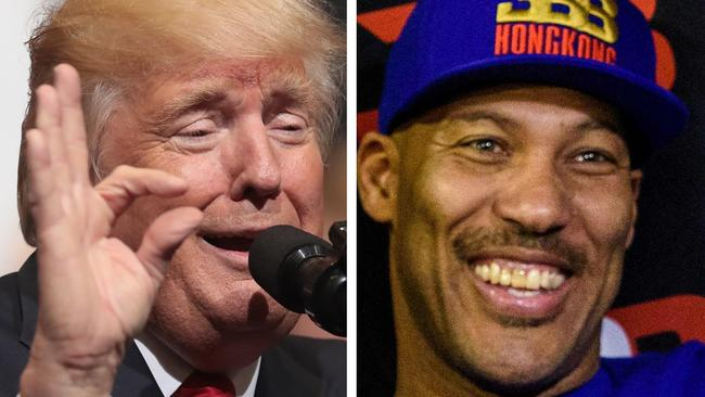Trump V Lavar >> Donald Trump bites back at LaVar Ball over LiAngelo Ball incident