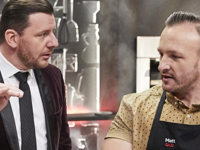 Spite night on MKR cook-off