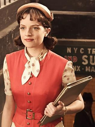 If you knew Peggy ... Elisabeth Moss as Peggy in Mad Men. Picture: Supplied