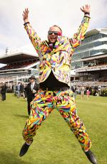 The 2016 Emirates Melbourne Cup day of racing at Flemington Racecourse Melbourne Cup 2016: Ryan Power from Craigieburn. Picture Norm Oorloff