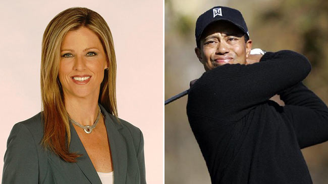 TV anchor Kelly Tilghman was suspended in 2008 after saying Tiger Woods's opponents should ''lynch him in a back alley''