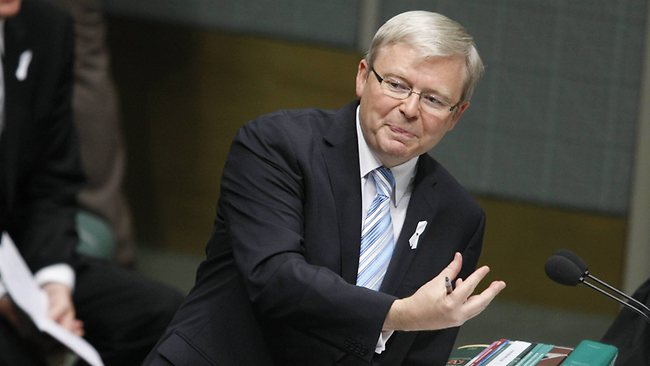 Former PM Kevin Rudd. Picture: Gary Ramage