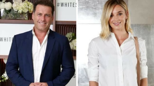 Karl Stefanovic and Jasmine Yarbat the Witchery and the Ovarian Cancer Research Foundation event. Picture: Jonathan Ng