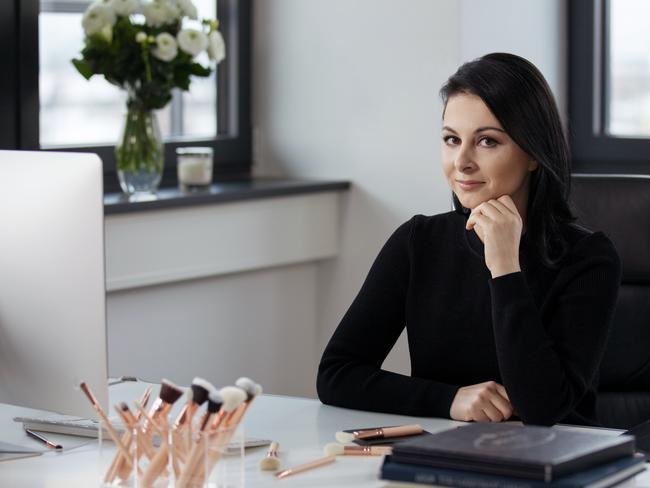 Zoe Boikou's make-up brand ZOEVA started in 2008 in her lounge room, and is now one of the biggest selling brush products in Sephora in Australia.
