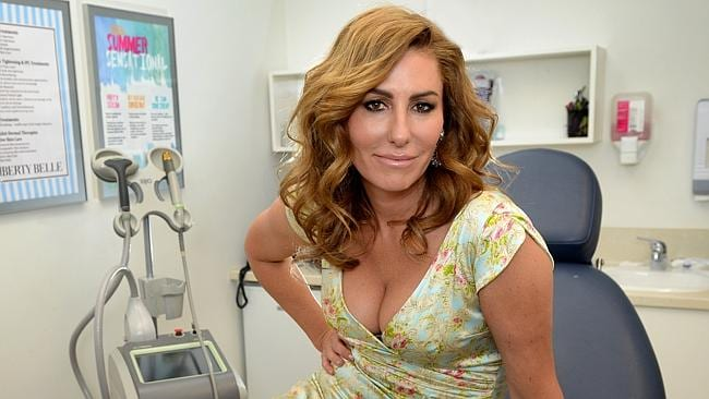 Andrea Moss, one of The Real Housewives of Melbourne, at her skin care centre Liberty Bel