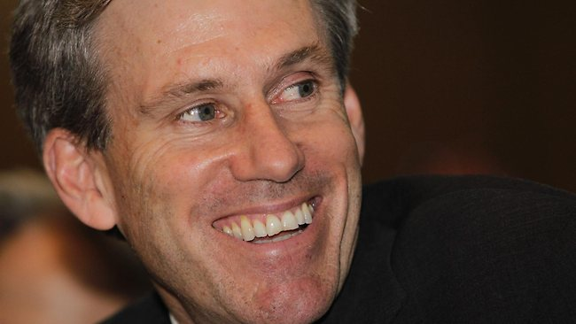 The then US envoy Chris Stevens at a meeting in Benghazi, Libya, last year.