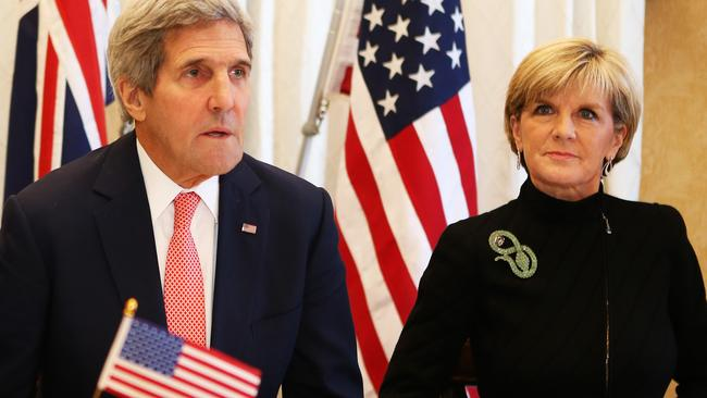 John Kerry backed an Australian push to combat home grown terrorists fighting overseas. Picture: Tim Hunter.