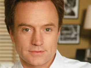 Actor Bradley Whitford as Josh Lyman in scene from TV program 'The West Wing'.