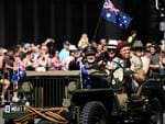 War veterans take part in an Anzac Day parade in Brisbane, Wednesday, April 25, 2018. Anzac Day is a national day of remembrance to commemorate the service and sacrifice of Australian service men and women. (AAP Image/Dan Peled) NO ARCHIVING