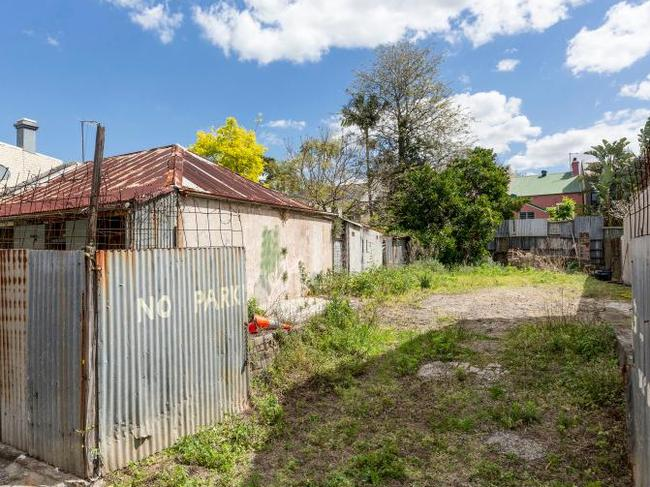 The home neighbours vacant land on its 507 square metre block across two addresses. Photo: BresicWhitney
