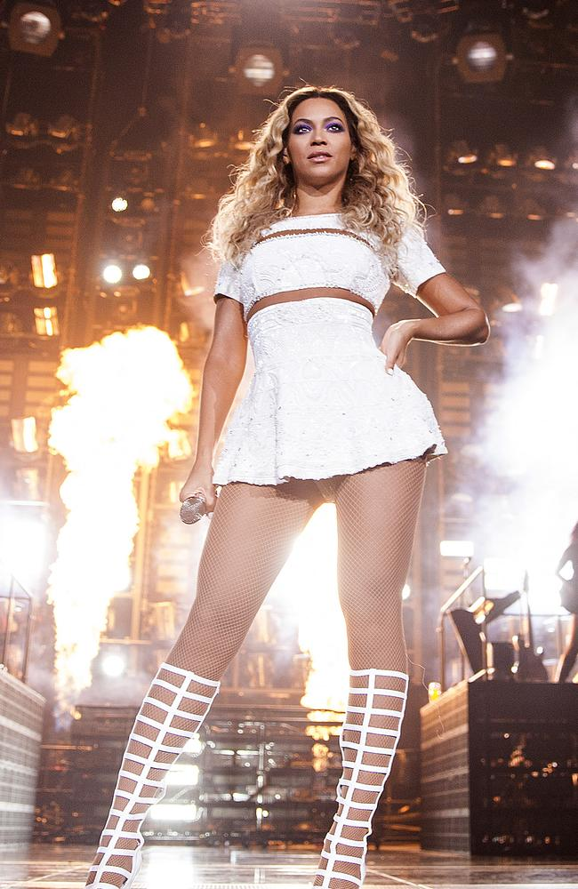 Beyonce is up for best international concert. Picture: Rob Hoffman