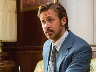 "This image released by Warner Bros. Entertainment shows Ryan Gosling in a scene from ""The Nice Guys."" (Daniel McFadden/Warner Bros. Entertainment via AP)"