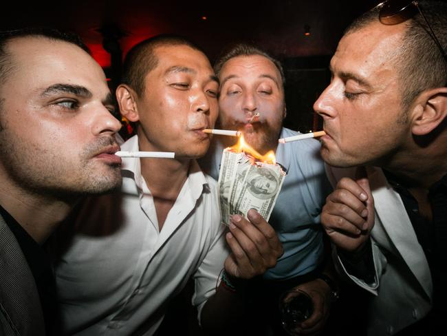 At Bar Rouge, money is obviously no issue. Photo: Marc Ressang