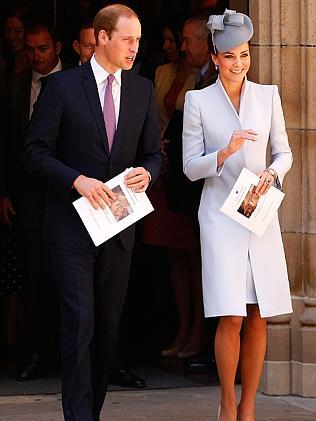 William was heavily involved with planning the tour. Picture: Brendon Thorne/Getty