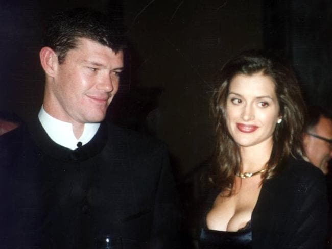 James Packer and Kate Fischer at Faberge Dinner.
