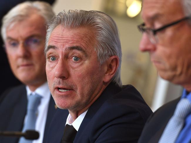 Happier times recently with the appointment of Bert van Marwijk as Socceroos boss.