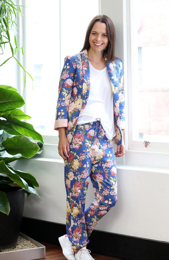 Mia Freedman from Mamamia photographed at her Surry Hills Office. Picture: John Fotiadis