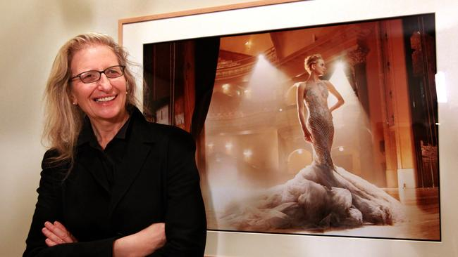 exposing vanity fair and rolling stone photographer annie leibovitz the courier mail. Black Bedroom Furniture Sets. Home Design Ideas